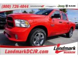 2015 Flame Red Ram 1500 Express Crew Cab #107340483