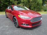 2016 Ruby Red Metallic Ford Fusion SE #107340749