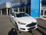 2013 White Platinum Metallic Tri-coat Ford Fusion Titanium AWD #107379642