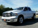 2014 Bright White Ram 1500 SLT Crew Cab 4x4 #107379553