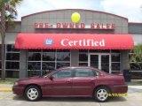 2001 Dark Carmine Red Metallic Chevrolet Impala LS #10725266