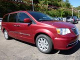 Deep Cherry Red Crystal Pearl Chrysler Town & Country in 2016