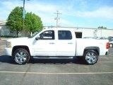 2008 Summit White Chevrolet Silverado 1500 LS Crew Cab 4x4 #10727957