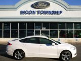 2015 Oxford White Ford Fusion SE AWD #107379856