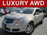 2011 Gold Mist Metallic Cadillac SRX 4 V6 AWD #107428535