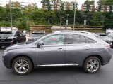2013 Nebula Gray Pearl Lexus RX 450h AWD #107428758
