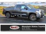 2016 Magnetic Gray Metallic Toyota Tundra SR5 Double Cab 4x4 #107428523