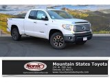 2016 Super White Toyota Tundra Limited Double Cab 4x4 #107428521