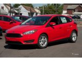 2015 Race Red Ford Focus SE Hatchback #107428727