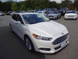 2013 White Platinum Metallic Tri-coat Ford Fusion SE 2.0 EcoBoost #107428903