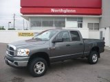 2007 Mineral Gray Metallic Dodge Ram 3500 Big Horn Quad Cab 4x4 #10724824