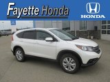 2014 White Diamond Pearl Honda CR-V EX AWD #107428892