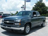 2006 Blue Granite Metallic Chevrolet Silverado 1500 Extended Cab #10727350