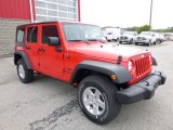 2016 Jeep Wrangler Unlimited Firecracker Red