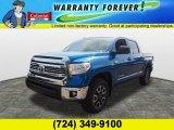 2016 Blazing Blue Pearl Toyota Tundra SR5 CrewMax 4x4 #107478227