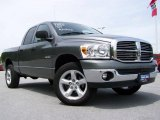 2008 Mineral Gray Metallic Dodge Ram 1500 Big Horn Edition Quad Cab 4x4 #10722270