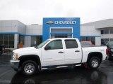 2013 Summit White Chevrolet Silverado 1500 LS Crew Cab 4x4 #107481311