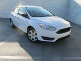2015 Oxford White Ford Focus S Sedan #107481355