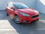 2015 Race Red Ford Focus SE Hatchback #107481354