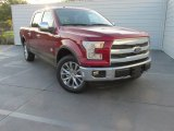 2015 Ruby Red Metallic Ford F150 King Ranch SuperCrew #107481353
