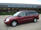 2007 Dark Toreador Red Metallic Ford Freestar SE #10734937