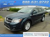 2014 Fathom Blue Pearl Dodge Journey SXT #107503171