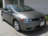 2007 Galaxy Gray Metallic Honda Civic EX Coupe #10734933