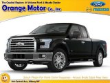 2015 Tuxedo Black Metallic Ford F150 XLT SuperCab 4x4 #107503031