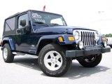2006 Midnight Blue Pearl Jeep Wrangler Unlimited 4x4 #10722264