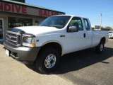 2002 Oxford White Ford F250 Super Duty XL SuperCab 4x4 #107503187