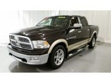 2011 Rugged Brown Pearl Dodge Ram 1500 Laramie Crew Cab 4x4 #107533899