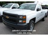 2015 Summit White Chevrolet Silverado 1500 WT Regular Cab #107533744