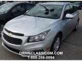 2016 Silver Ice Metallic Chevrolet Cruze Limited LT #107533735