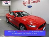 2016 Race Red Ford Mustang V6 Coupe #107533446