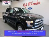 2015 Tuxedo Black Metallic Ford F150 Lariat SuperCrew #107533430