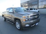 2015 Brownstone Metallic Chevrolet Silverado 1500 High Country Crew Cab 4x4 #107533717
