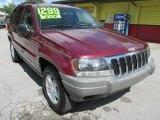 2002 Dark Garnet Red Pearlcoat Jeep Grand Cherokee Laredo 4x4 #107533714