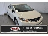 2015 Taffeta White Honda Civic LX Sedan #107533369