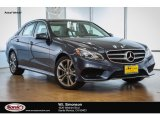 2016 Indigo Blue Metallic Mercedes-Benz E 350 Sedan #107533551