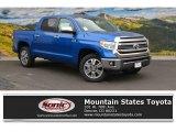 2016 Blazing Blue Pearl Toyota Tundra 1794 CrewMax 4x4 #107533347
