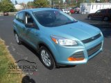 2013 Frosted Glass Metallic Ford Escape S #107570451