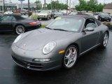 2007 Meteor Grey Metallic Porsche 911 Carrera S Cabriolet #10719620