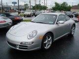 2008 Arctic Silver Metallic Porsche 911 Carrera Coupe #10719619