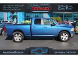 2011 Deep Water Blue Pearl Dodge Ram 1500 Big Horn Quad Cab 4x4 #107570038