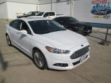 2015 Oxford White Ford Fusion Titanium #107570110