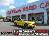 2015 Triple Yellow Tricoat Ford Mustang V6 Coupe #107570075