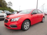2016 Red Hot Chevrolet Cruze Limited LS #107603191