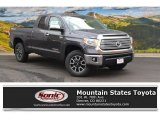 2016 Magnetic Gray Metallic Toyota Tundra Limited Double Cab 4x4 #107602965