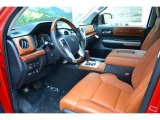 2016 Toyota Tundra 1794 CrewMax 4x4 Front Seat