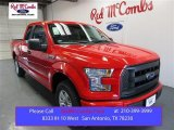 2015 Race Red Ford F150 XL SuperCab #107603036